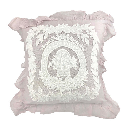 Cushion Cover Porcelaine Parme (45x45)