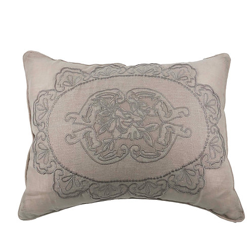 Cushion Cover Rectangular Castille Colombe (55x45)