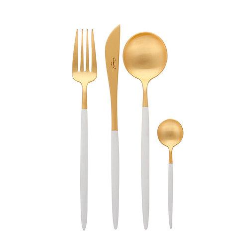 GOA White GOLD SET - 4 piece