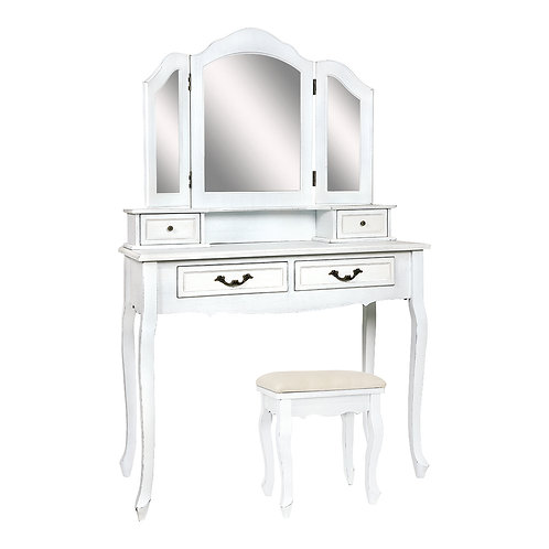 Dressing table Joséphine(with a mirror, stool)