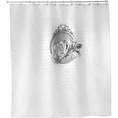 Shower curtain Roses