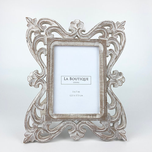 """Handcrafted wooden frame  No.85, 5""""x7"""""""