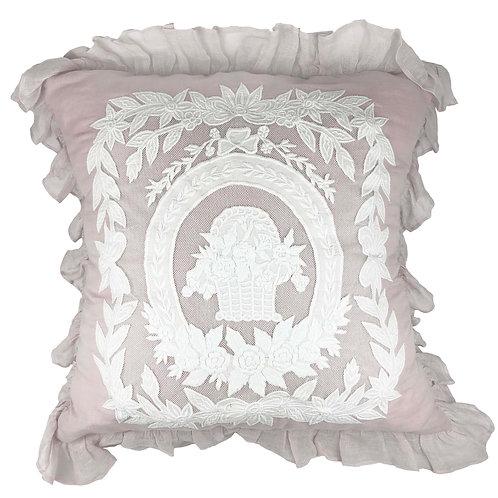 Cushion Cover Porcelaine Parme (60x60)