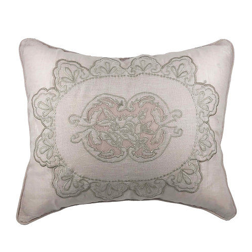 Cushion Cover Rectangular Castille Parme (55x45)
