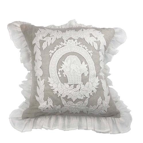 Cushion Cover Porcelaine Naturel (45x45)
