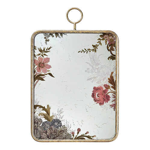 Mirror rectangular Cabinet des Merveilles