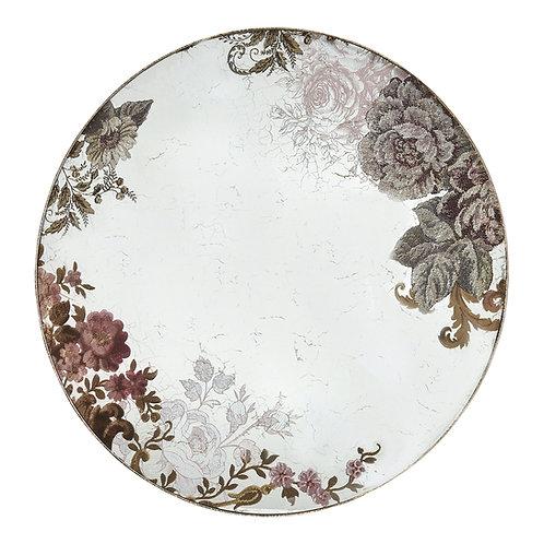 Mirror round Cabinet des Merveilles