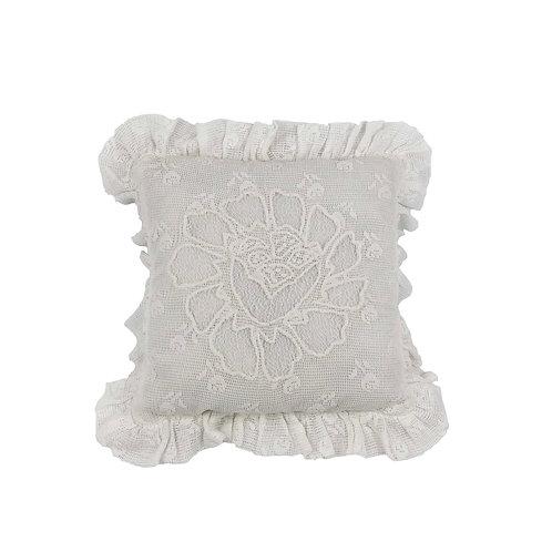 Mini cushion KOKK Blanc (30X30)