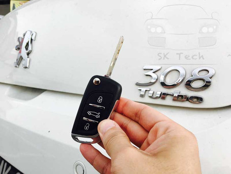 Peugeot 308 Turbo year 2010 add new key and remote with immobilizer