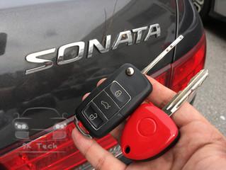 Hyundai Sonata year 2008, add new flip key remote