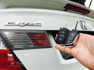 Honda Civic FB year 2013 add flipkey remote and immobilizer transponder