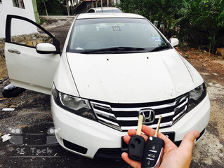 Honda City 2012 all key lost and immobilizer reset