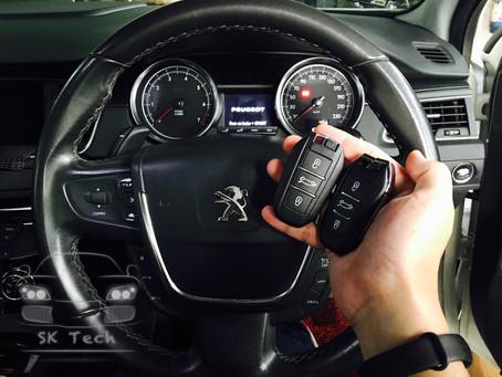 Peugeot 508 year 2011add smart key