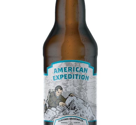 Barrel Aged American Expedition Honey Ginger Wheat Ale