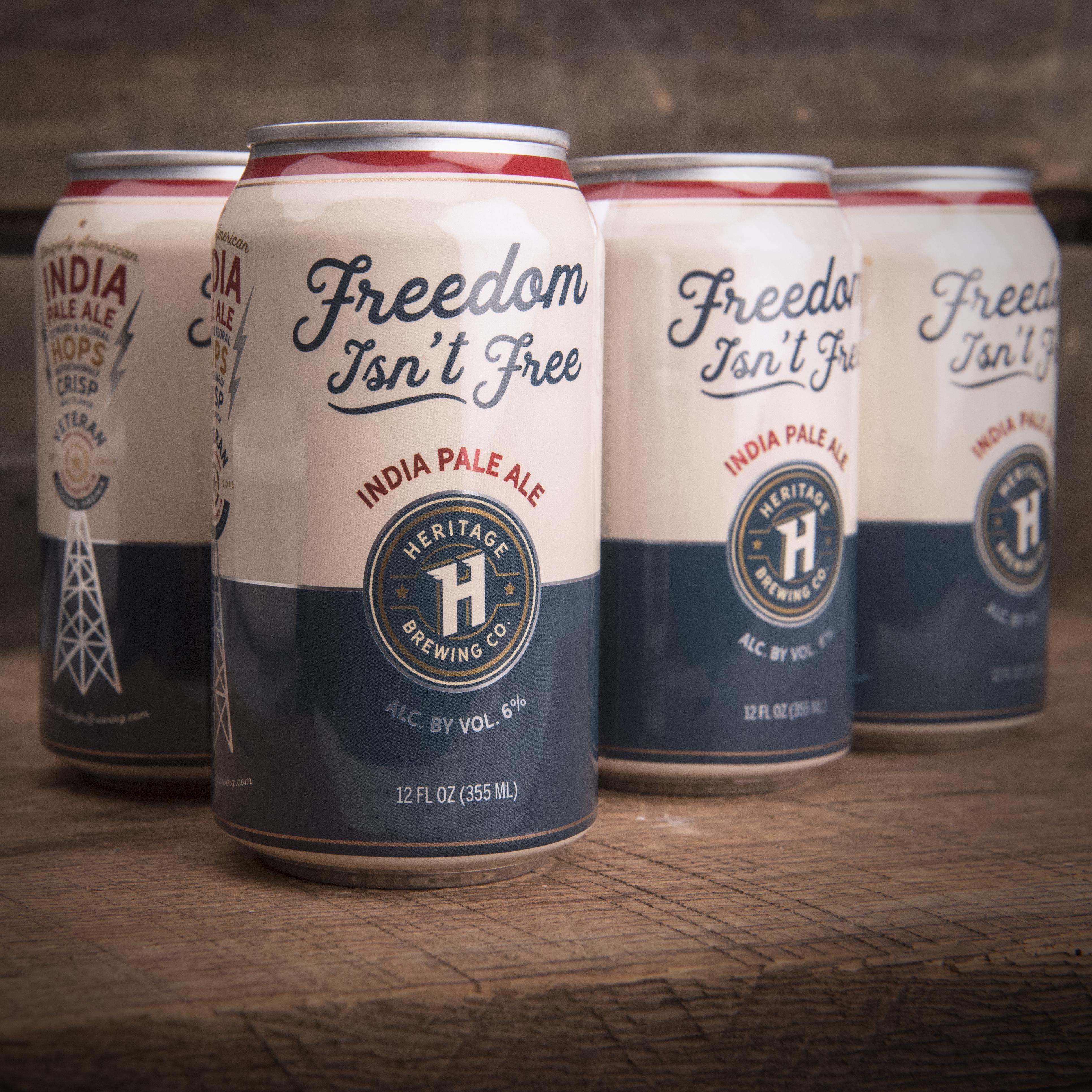 Freedom Isn't Free IPA 4