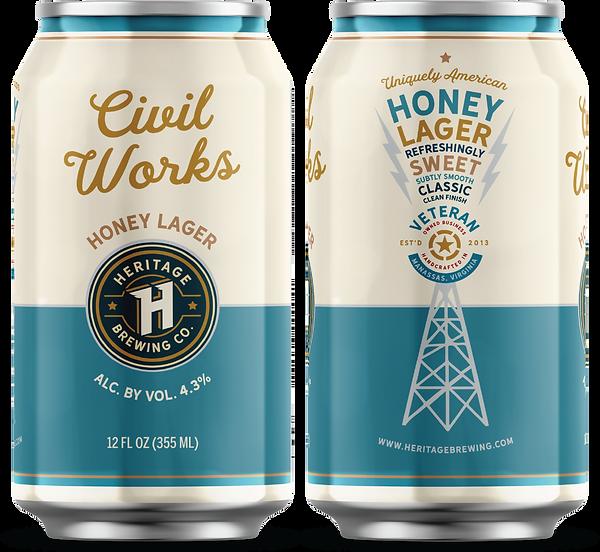 Civil Works Honey Lager