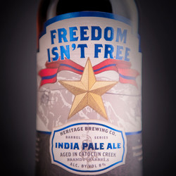 Brandy Barrel Freedom Isn't Free 2