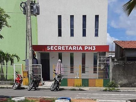 Novo espaço administrativo