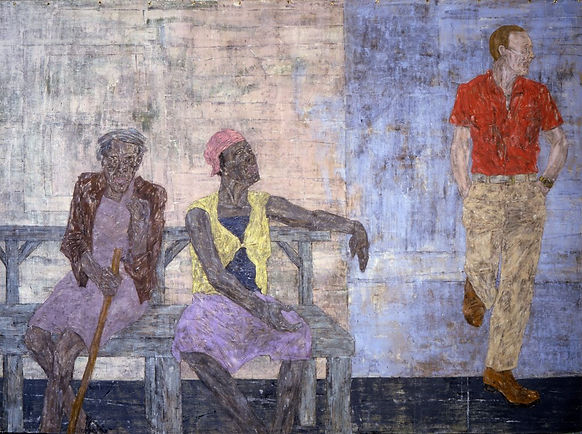 03.-Leon-Golub.-Two-Black-Women-and-a-Wh
