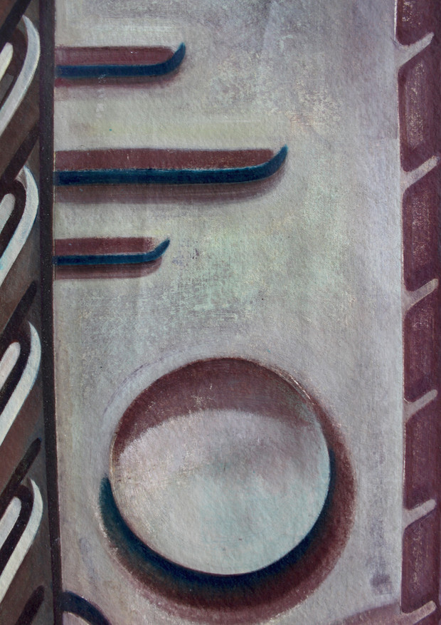 Through the Grapevine I (detail)