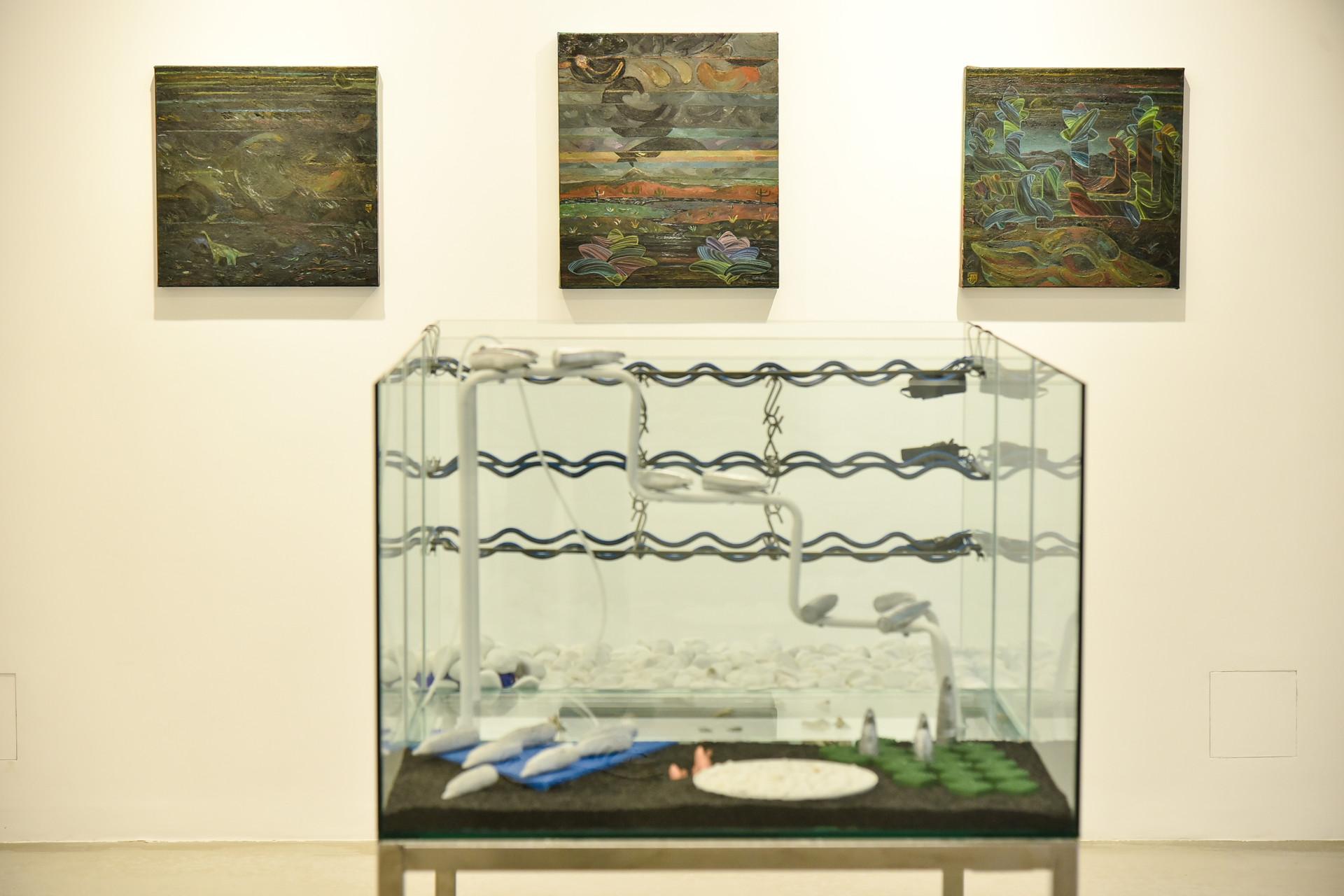 install view, Novembar Gallery (Blegrade)