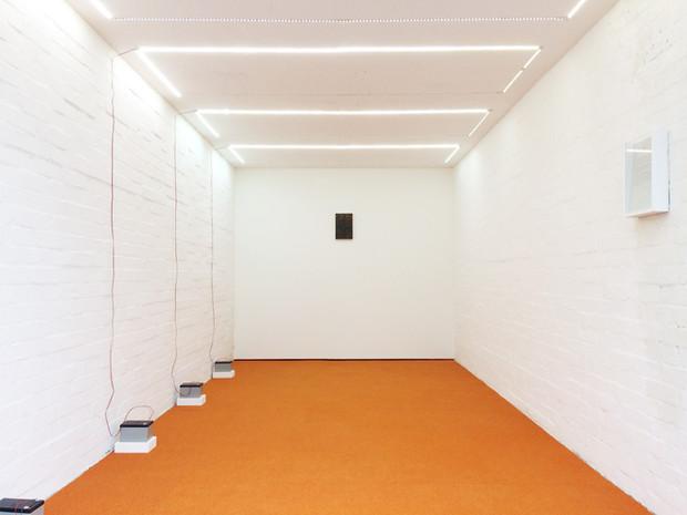 install view, Aqbar Space (London)