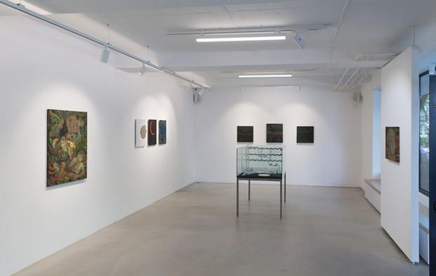 install view, Novembar Gallery (Belgrade)