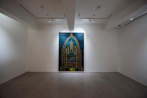 install view, School Gallery (London)