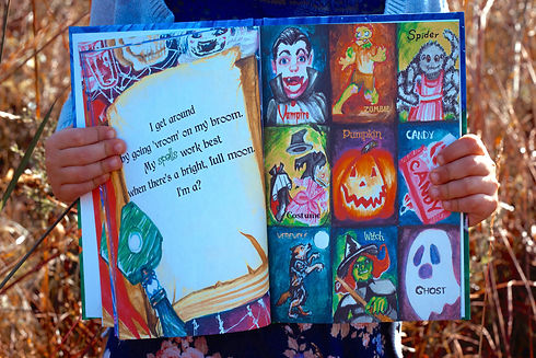 Children's Halloween book for kids 3 4 5 year-old