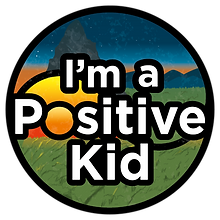 Logo for I'm a Positive Kid activities