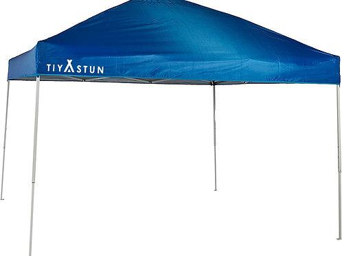 TIYASTUN Pop up Canopy Tent Commercial Instant Shelter 3x3m (Blue)