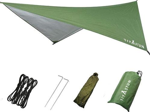 TIYASTUN Tent Fly Hammock Rain Fly for Camping Picnic Beach