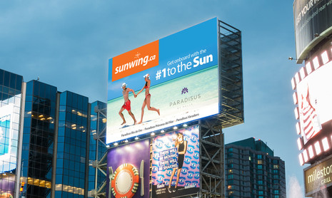 Yonge & Dundas Digital Billboard