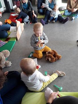 atelier éveil musical enfants bébés flute lollipop roubaix zikatane