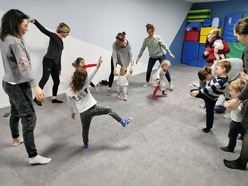 danse parents enfants chez lollipop comp