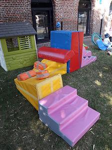 modules de motricité parcours enfants bébé babygym baby-gym mini-gym lollipop jardin