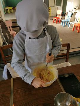 atelier cuisine encfants cours petit cuistot chez Lollipop Roubaix recette enfant
