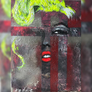 Abstract Icons - Marilyn Monroe