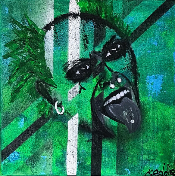 Abstract Icons - Keith Flint