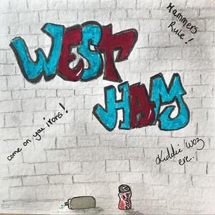 West Ham Graffiti
