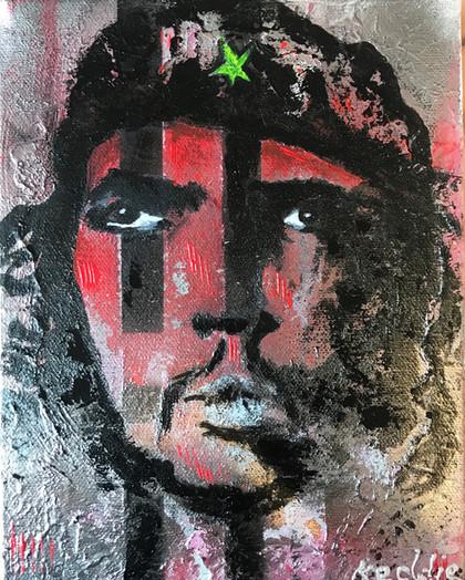 Abstract Icons - Che Guevara