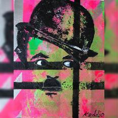 Abstract Icons  - Charlie Chaplin