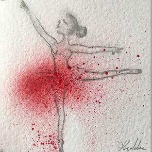 Red Tutu Ballerina