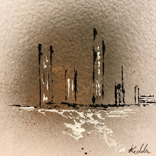 Abstract City - Gold