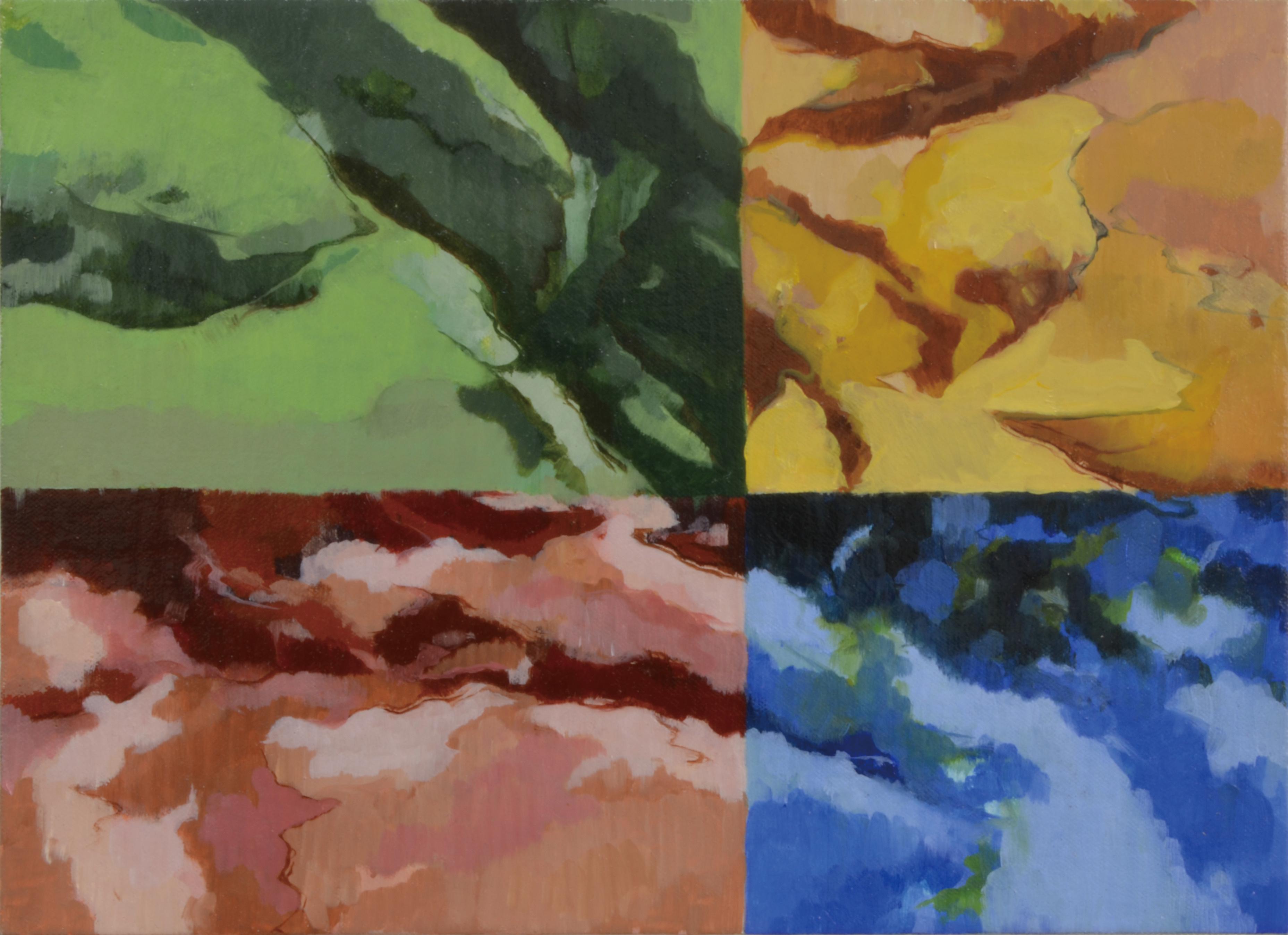 三原色と緑 pf