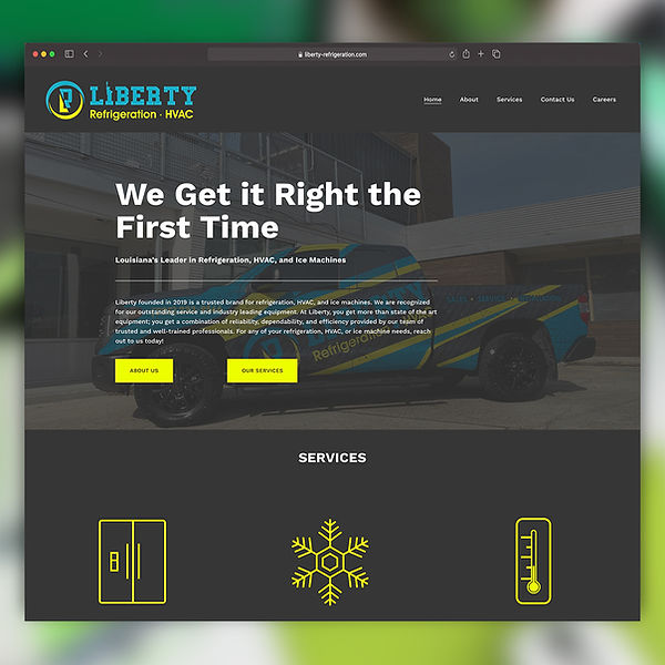 Liberty AC Website Build