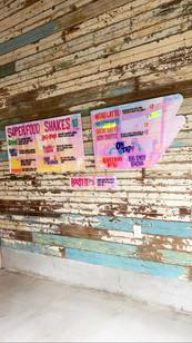 Shake Shoppe Signage