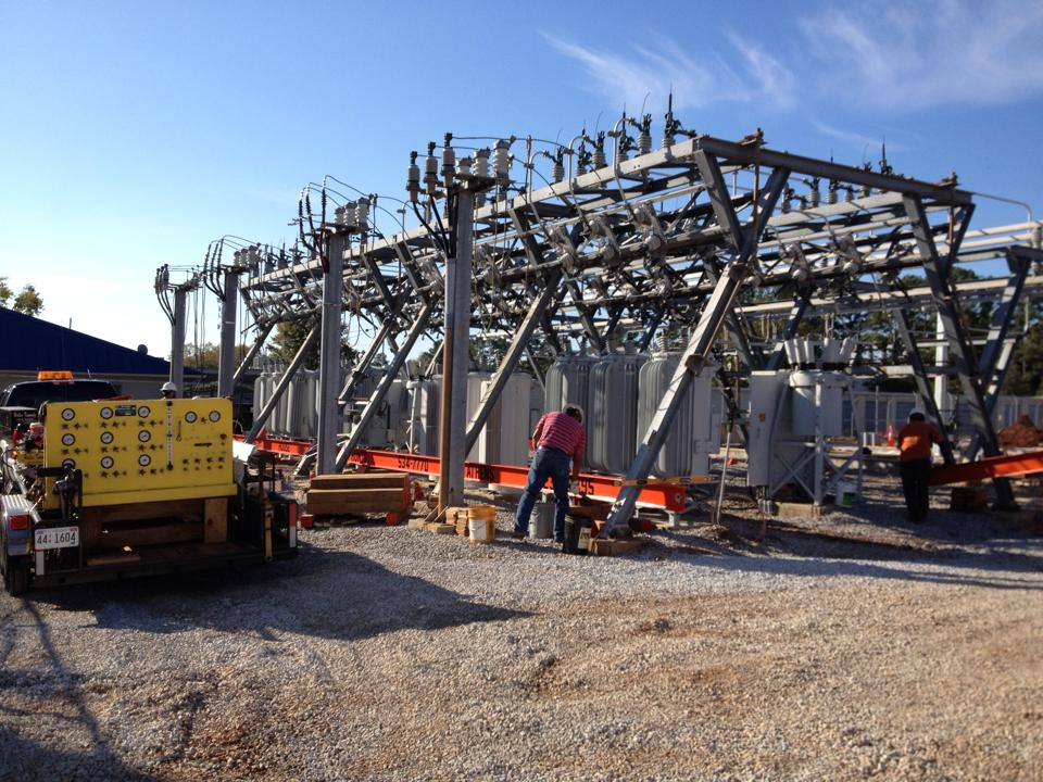 Byrd Springs Substation