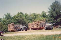Log House Move to Burritt Museum