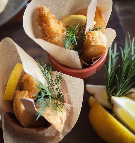 Figs resturaurant, fish dish